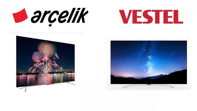 Vestel ve Arçelik Türkiye'nin İlk OLED TV'si Olma Yarışında