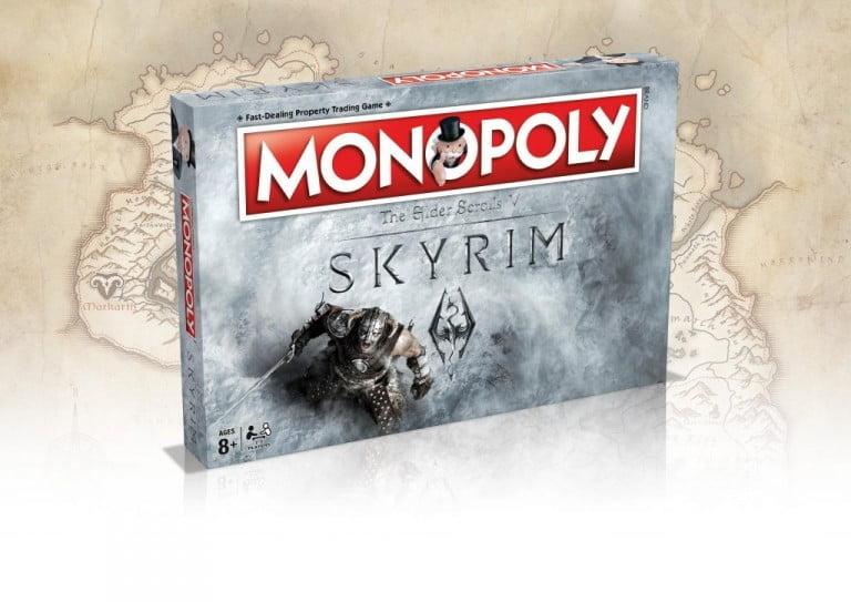 Skyrim'e Özel Monopoly Geliyor!