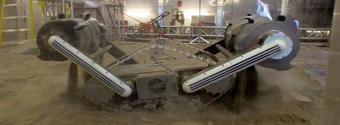 NASA'nın madenci Mars robotu hazır