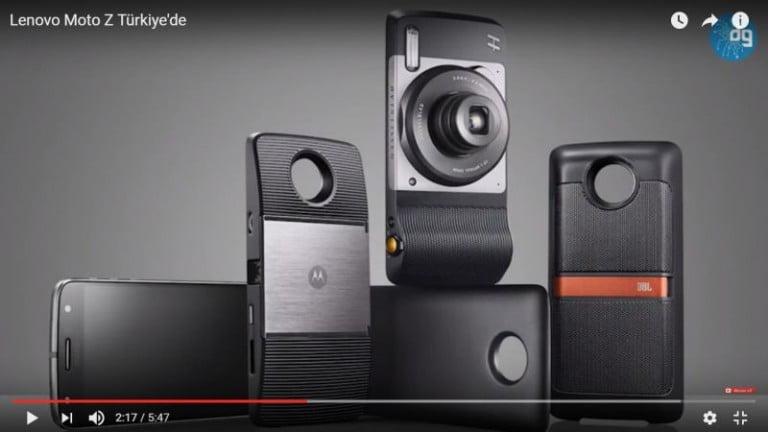 Lenovo Moto Z ve Aksesuarlarına Yakından Bakıyoruz