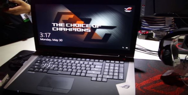 Asus, Çift GTX 1080 ekran kartına sahip Asus ROG GX800 modelini açıkladı