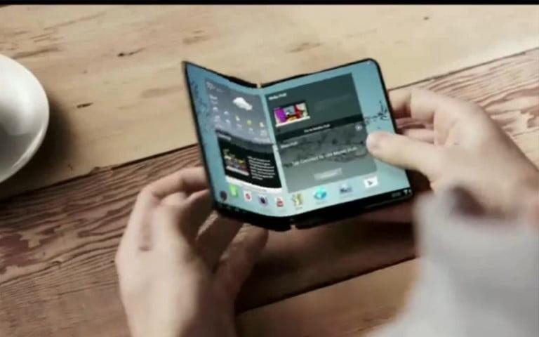 Samsung katlanabilir telefonları 2017'de üretebilir!