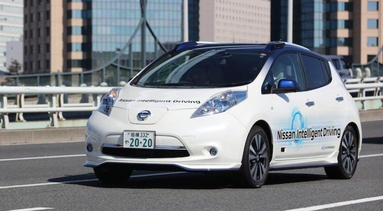 Nissan da  Sürücüsüz Otomobil Testlerine Başlıyor