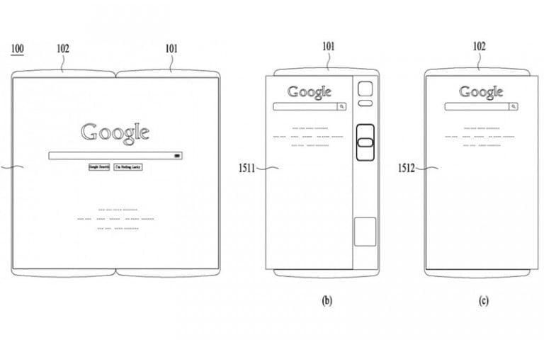 LG katlanabilir telefon patentini aldı!