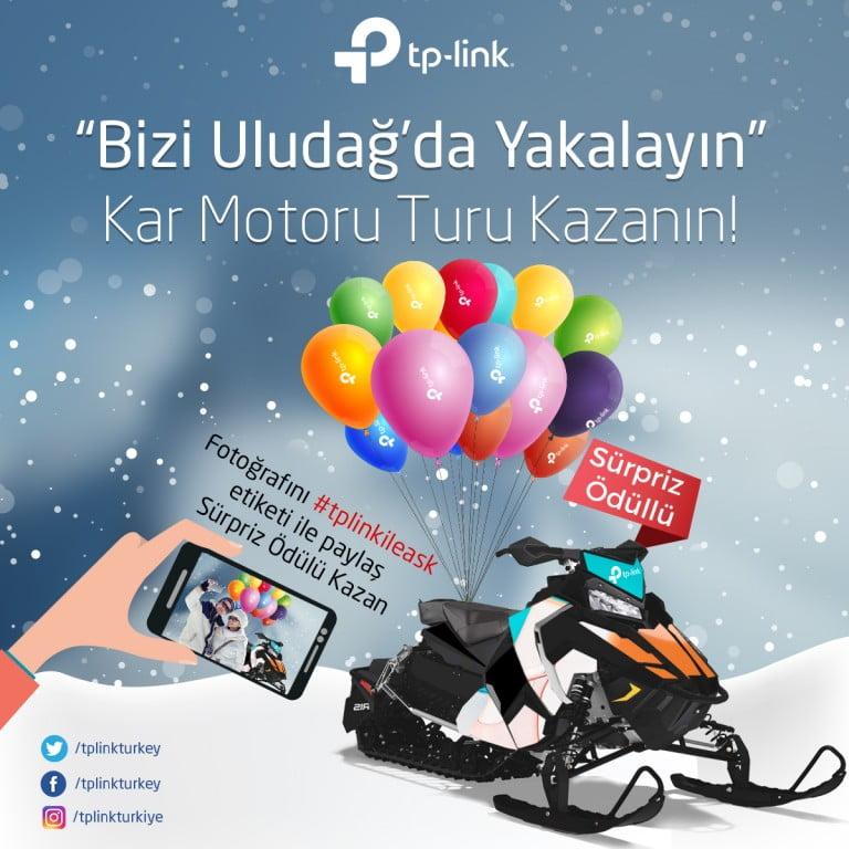 TP-Link, Uludağ'da Hız Tutkunları İle Buluşuyor