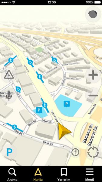 Yandex Navigasyon Park