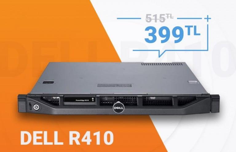 Çift işlemcili Dell PowerEdge R410 fırsatı