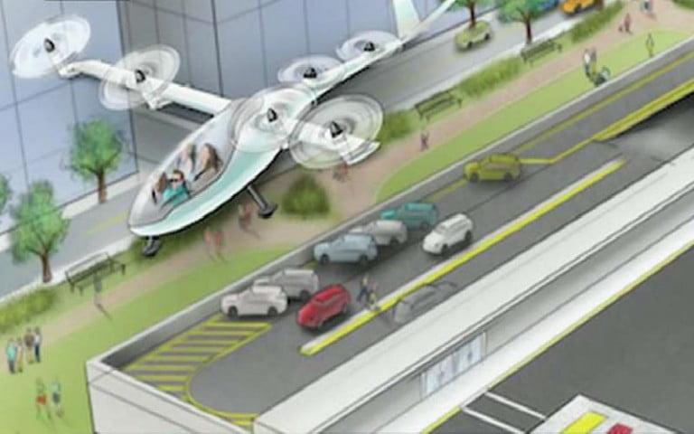 Uber, NASA mühendisi ile uçan otomobil geliştirecek
