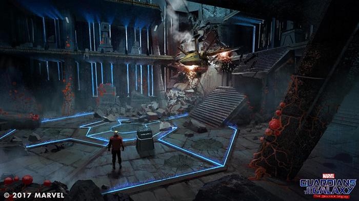 Guardians of the Galaxy Oyunundan Yeni Ekran Görüntüleri Yayınlandı