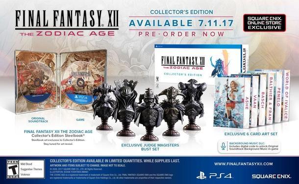 Final Fantasy XII Koleksiyonu Versiyonu Duyuruldu!