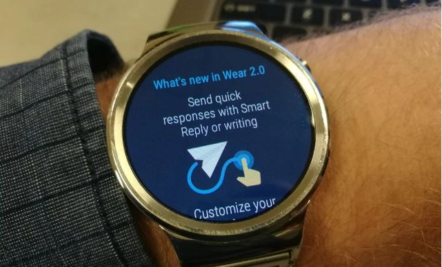 Huawei Watch için Android Wear 2.0 güncellemesi yayınlandı