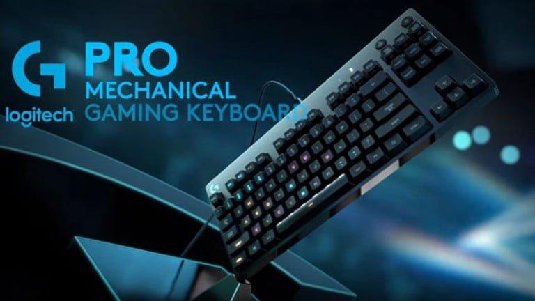 Logitech yeni mekanik oyuncu klavyesini duyurdu