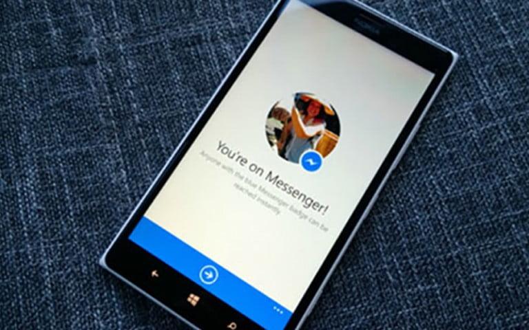 Facebook Messenger Windows Phone desteğini sonlandırıyor!