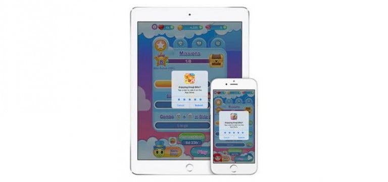 iOS 10.3 kullanıcılara uygulama içi değerlendirme fırsatı sunuyor