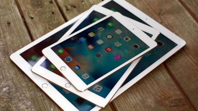 Apple 4 yeni iPad üzerinde çalışıyor