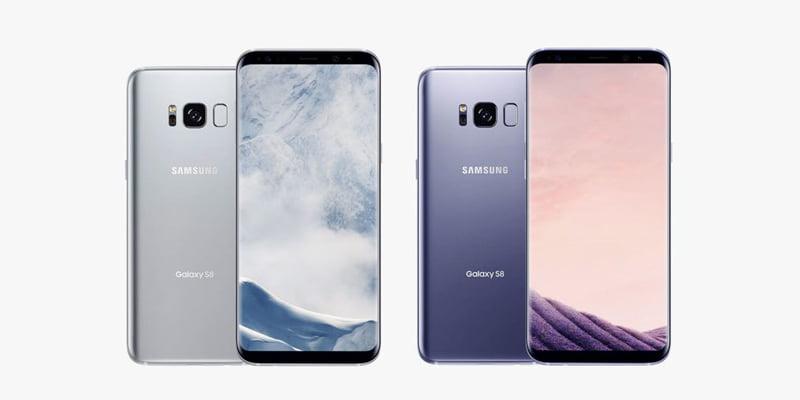 iphone x samsung s8 karşılaştırma