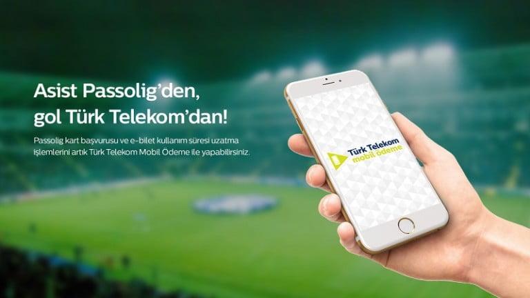 Passolig 'de Türk Telekom mobil ödeme  ayrıcalığı başladı