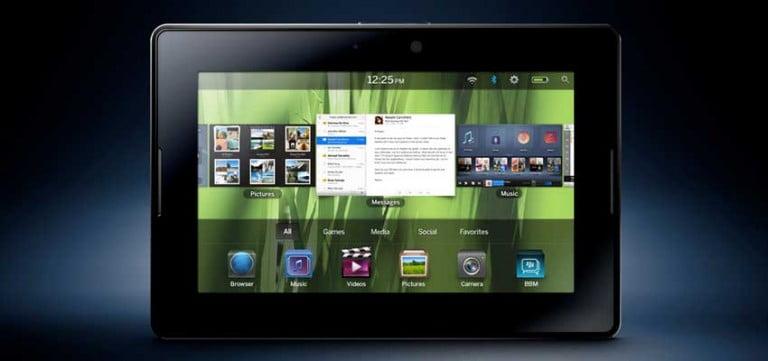 BlackBerry'den Android tablet gelebilir