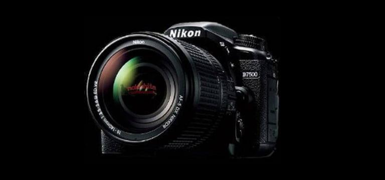 Nikon D7500 fotoğrafı sızdırıldı