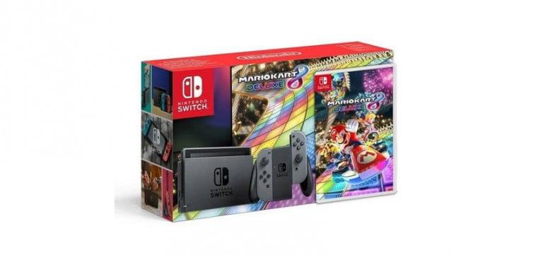 Nintendo Switch Mario Kart 8 Deluxe paketi açığa çıktı