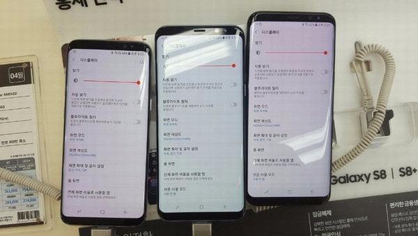 Galaxy S8 kırmızı ekran hatası çözüldü