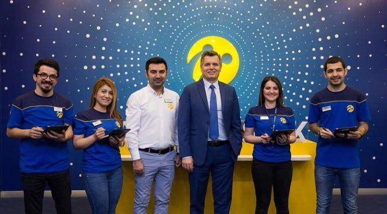 Turkcell 'den yeni perakende dönüşüm projesi