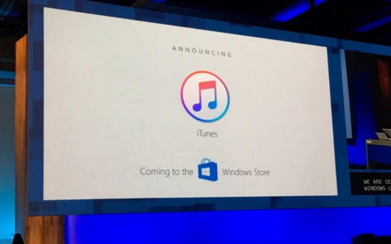 iTunes, Windows Store kullanıcıları için geliyor