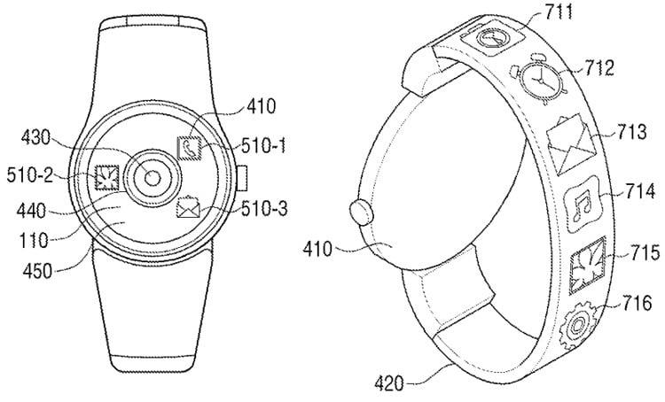 Samsung Heyecan Verici İki Cihaz İçin Patent Aldı