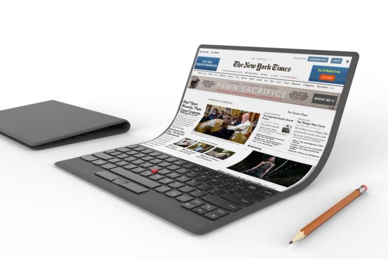 Lenovo katlanabilir ekranlı PC üretecek