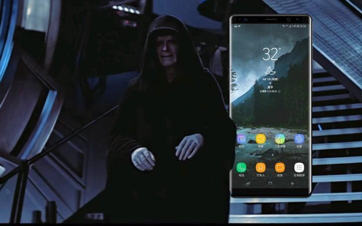 Galaxy Note 8 Emperor Edition geliyor!