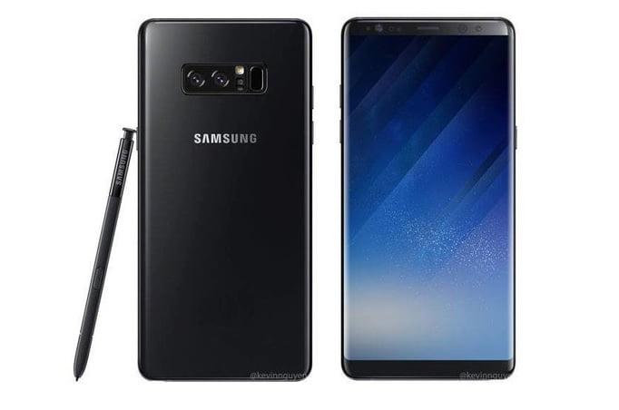 Samsung, Galaxy Note 8 ile yeni bir renk seçeneği sunabilir