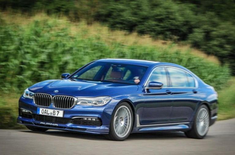 BMW 7 Serisi Alpina B7'nin 205 mph versiyonu Piyasanın En Hızlı Dört Kapılısı