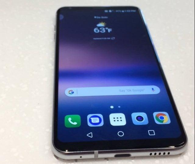 LG V30'un Fotoğrafı Sızdırıldı