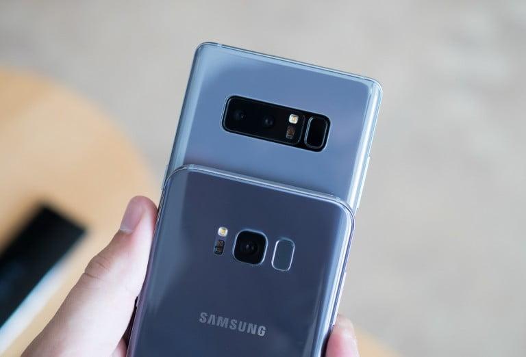 Galaxy Note 8 ile Galaxy S8+ Karşılaştırması