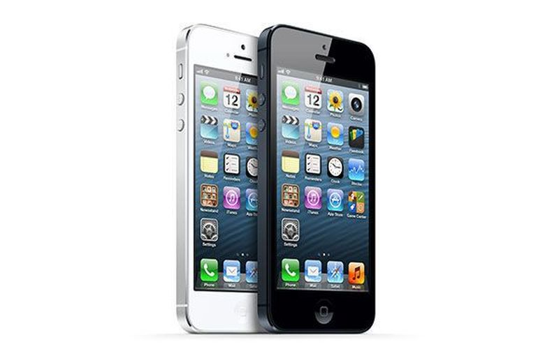 iPhone 8 2012 iPhone 5