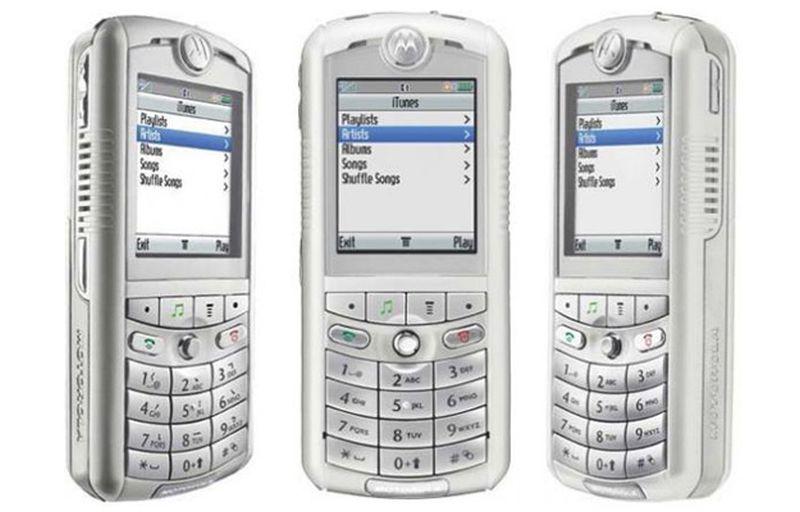 ipHone 8 2005 – Motorola Motorola Rokr E1