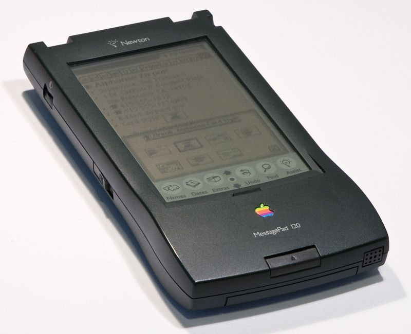 iphone 8 1993 - Apple Newton