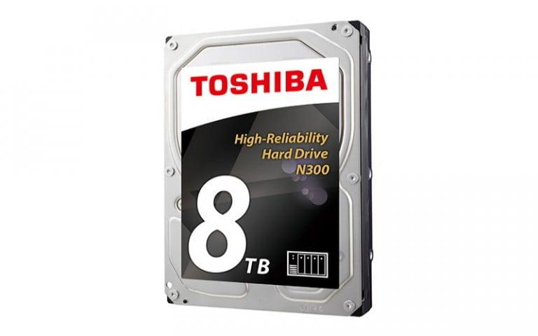Toshiba, 8TB'lık sabit disk ile önemli bir kesime hizmet edecek