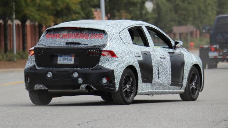 2019 Model Ford Focus Testte Yakalandı