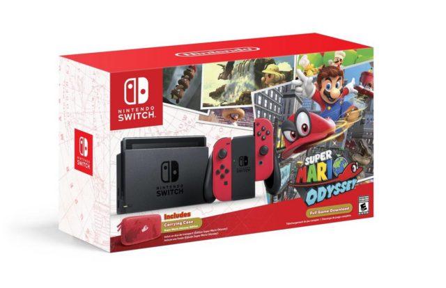 Super Mario Odyssey Nintendo Switch paketi duyuruldu