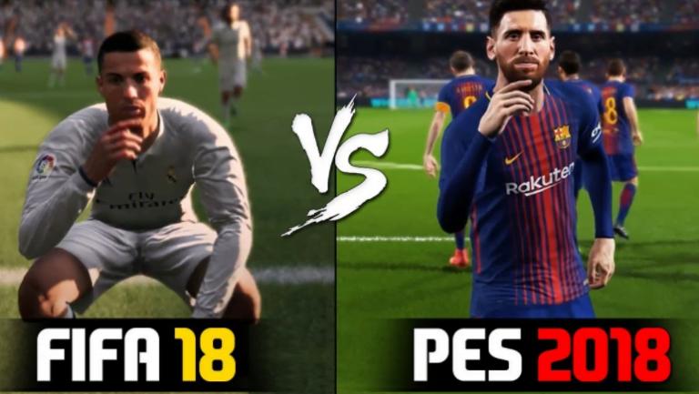 Bu senenin kazananı FIFA 18 mi yoksa PES 2018 mi olacak?