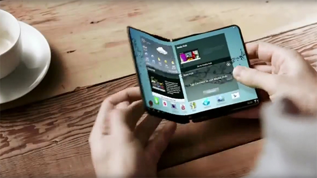 Samsung'un katlanabilir ekranlı telefonu Galaxy X çok yakında