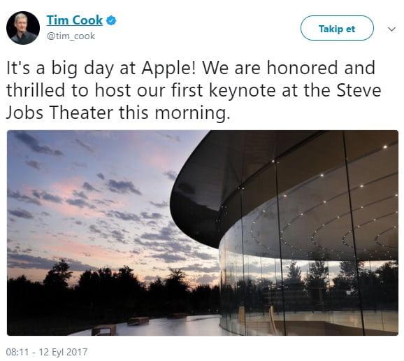 tim cook apple iphone 8