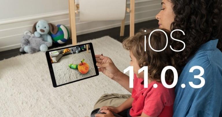 iOS 11.0.3 Yayınlandı!