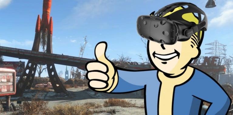HTC Vive, Fallout 4 VR paketiyle geliyor!