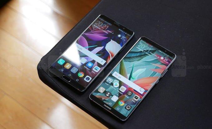 Huawei Mate 10 vs Mate 10 Pro
