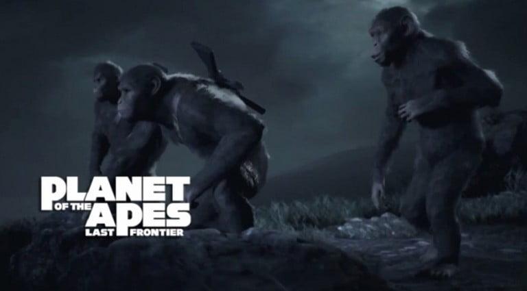 Planet of the Apes Last Frontier için yeni video