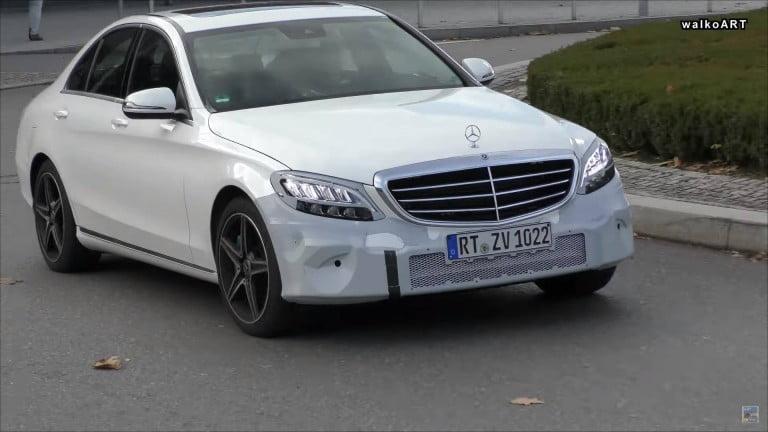 Yeni Mercedes C Serisi Kamuflajsız Yakalandı!