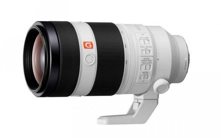 Sony FE 400mm F2.8 GM OSS Süper Telefoto lens 2018'de piyasada olacak
