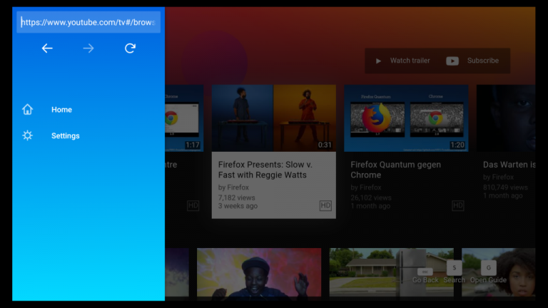 Firefox Amazon Fire TV'ye Geldi